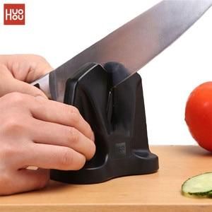 Image 2 - Più nuovo Huohou Cucina In Acciaio Al Tungsteno per Affilare I Coltelli Professionale Singelhuvud Affilare Casa Per Affilare I Coltelli Utensili Accessori