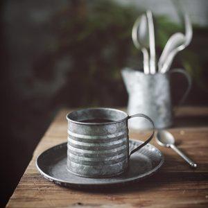 Image 4 - 金属鉄錬鉄鉄花瓶ジャー小さなミルクポットレトロインダス素朴な静物食品写真撮影の小道具