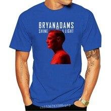 Bryan Adam Tour 2019 Tshirt Black Short Sleeve size Ready S-3XL Hot Sale