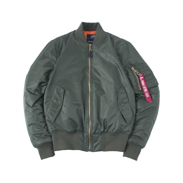 Plus Size US Air Force Pilot Ma1 Bomber Flight Jacket Men hip hop padded Letterman Winter Waterproof Nylon puffer red women coat 4
