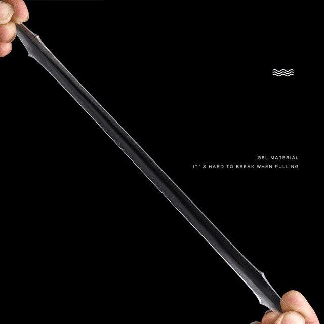 Фото волшебная нано лента прозрачная моющаяся многоразовая двусторонняя цена