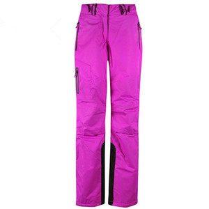 Image 5 - 2019 חורף מכנסיים נשים לבן סקי מכנסיים נשים סנובורד שלג מכנסיים נקבה סקי וסנובורד סקי סרבל עמיד למים