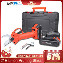 Branch Trimmer NEWONE Pruning Cordless Scissor Shears Secateur Orchard Plant Fruit