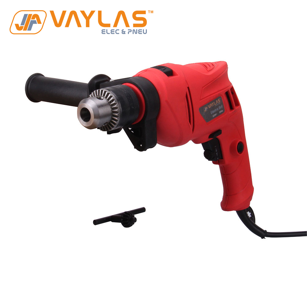 710W 0-3000 R/min High Rotation Speed Corded Impact Drill Electric Drill Tool 220V 50Hz Max 13mm Chuck Controllable Speed