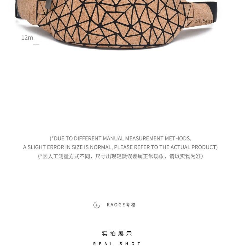 Kogger sisterismo nicho design cintura saco crossbody