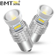BMTxms-luces LED de circulación diurna para coche, Canbus, accesorios de lámpara automática, para Hyundai Creta 2016-2019, DRL, BA15S 1156 P21W