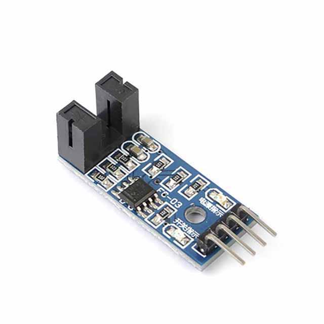 A23-- 3.3V-5V Counter Speed Measurement Module Motor Speed Test Module Slot Optocouple Pulse Detector