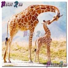 5d diy животное милый жираф для малышей и мам Алмазная картина