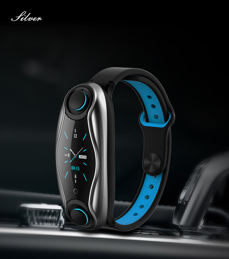 LEMFO LT04 T90 Fitness Bracelet Wireless Bluetooth Earphone 2 In 1 Bluetooth 5.0 IP67 Waterproof Sport Smart Watch Wristband