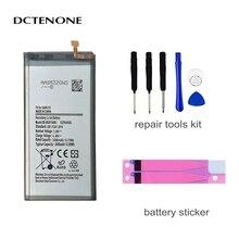 DCTENONE Battery EB-BG973ABU For Samsung Galaxy S10 S10 X SM-G973F/DS SM-G973F SM-G973U G973W G9730 3400mAh +Tools смартфон samsung galaxy s10 g973f оникс
