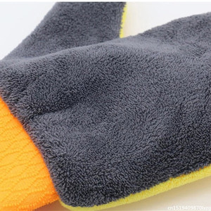 Image 5 - Waterproof Car Wash Microfiber Chenille Gloves Thick Car Cleaning Mitt Wax Detailing Brush Auto Care Double faced Glove