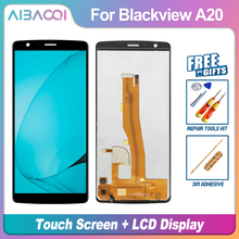 AiBaoQi yeni orijinal 5.5 inç dokunmatik ekran + 960x540 lcd ekran meclisi değiştirme Blackview A20/A20 Pro telefon