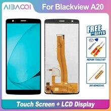 Aibaoqi 새로운 원본 5.5 인치 터치 스크린 + 960x540 lcd 디스플레이 어셈블리 교체 blackview a20/a20 프로 전화