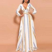 Женское элегантное бальное платье с глубоким v образным вырезом