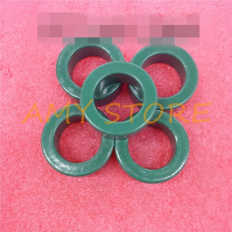 5pcs Transfoemer Iron Core Power Inductor Ferrite Rings Toroid Color Green 61x35x12.7mm