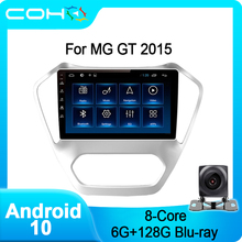 Multimedia-Player Android 10.0 COHO Autoradio MG 128G for GT Octa-Core 6