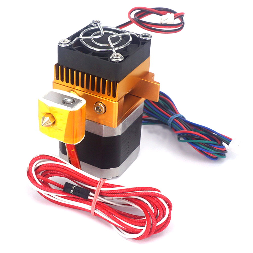 MK8 All-metal Direct Extruder Kit Short Distance For 3D Printer Prusa I3 Nozzle