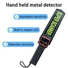 Сканер безопасности md 3003b1 ручной детектор металлоискатель