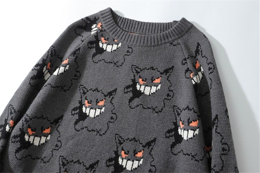 Fojaganto suéter masculino de marca, blusão de