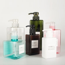 12pcs 100ml 150ml 250ml 280ml 450ml 650ml Lotion Plastic Bottles Shampoo Pump Bottle Shower Gel Pump Bottles Container Dispenser