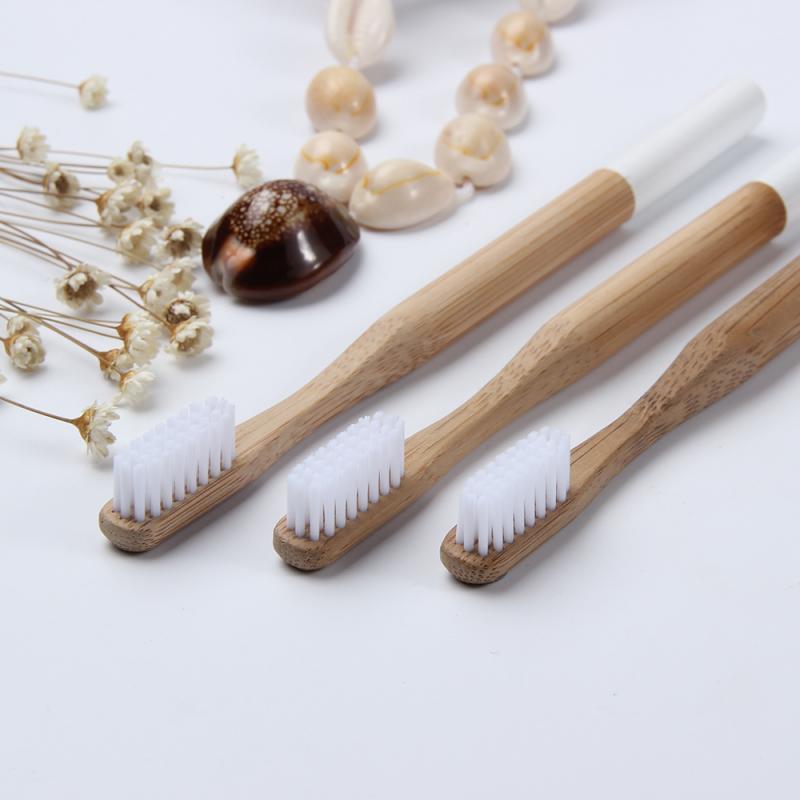 1 Pcs Eco friendly Bamboo Toothbrush Flat  Round Bamboo Handle White Soft Bristle Toothbrush Adult Toothbrush Bamboo Toothbrush Toothbrushes    - AliExpress
