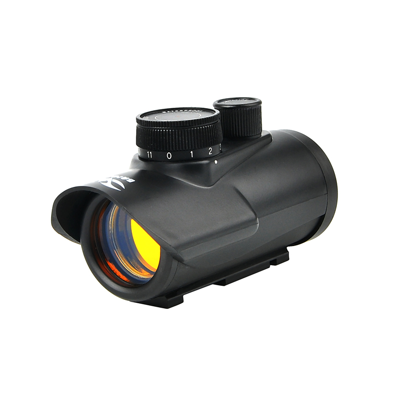 Red Dot Sight Scope Holographic 1 X 30mm 11mm & 20mm Weaver Rail Mount For Tactical Hunting