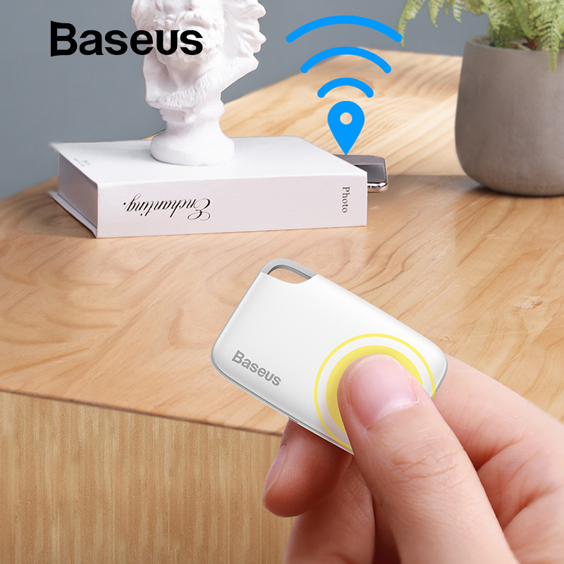 Baseus sans fil traqueur intelligent Anti-perte alarme Tracker détecteur de clé enfant sac portefeuille trouveur GPS localisateur Anti perte alarme Tag 2 types