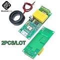 AC Digitale Multifunktions Meter Watt Power 0-100A Volt Amp TTL Current Test Modul Geschlossen CT PZEM-004T Mit Spule 80-260V Für Ardu