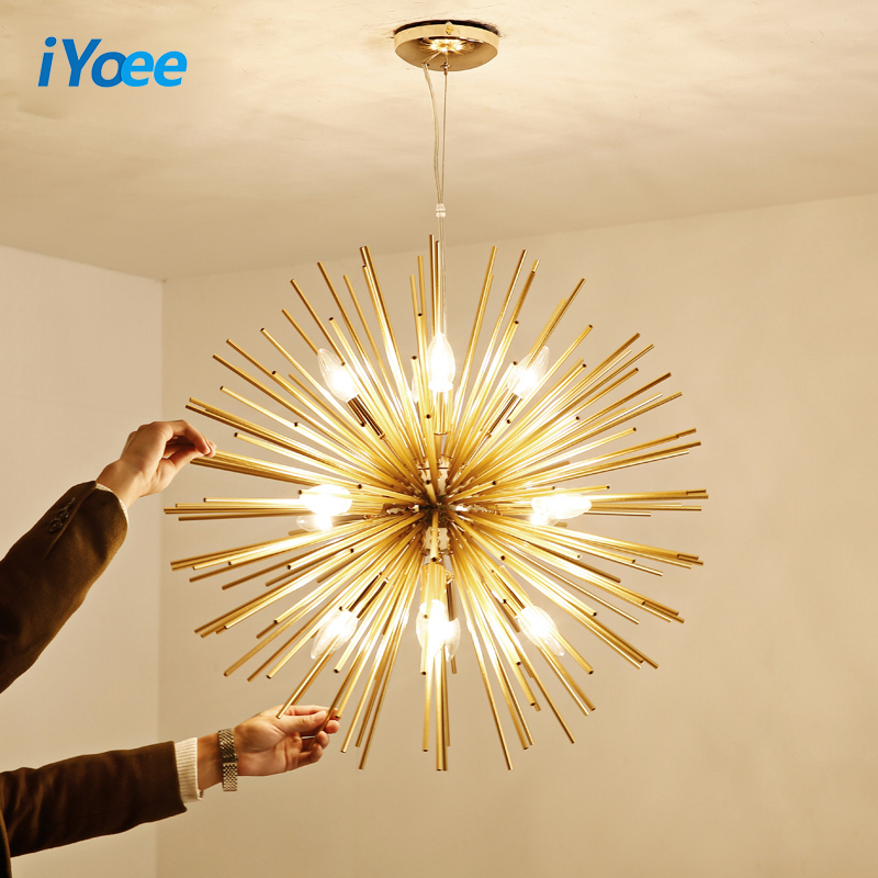 Modern LED Chandeliers Design for Living Room Bedroom Iron Indoor Lighting Fixture Design Creative Hanging Lamps Home Decoration