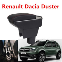 For Renault Dacia Duster Armrest box central Store content DUSTER armrest box with USB interface|Armrests|   -