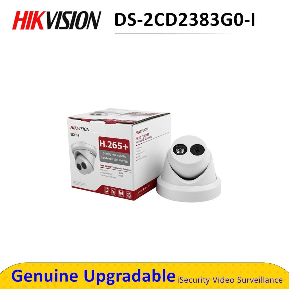 Caméra de surveillance extérieure 8MP 4K POE IP, 30m ir, tourelle, cctv, H.265 +, DS-2CD2383G0-I