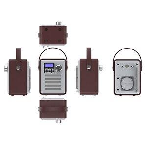 Image 5 - DAB الصوت FM استقبال MP3 الخشب ستيريو يدوي شاشة الكريستال السائل المحمولة قابلة للشحن لاعب USB ريترو بلوتوث راديو رقمي