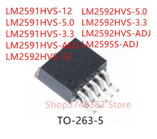 10 sztuk LM2591HVS 12 LM2591HVS 5.0 LM2591HVS 3.3 LM2591HVS ADJ LM2592HVS 12 LM2592HVS 5.0 LM2592HVS 3.3 LM2592HVS ADJ LM2595S ADJ