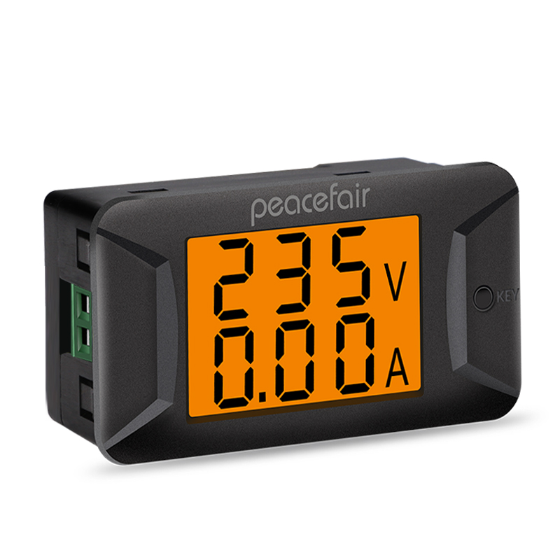 Peacefair AC Single Phase 400V 100A Digital Ammeter Voltmeter Electronic Load Smart Voltage Tester New Arrival PZEM-026