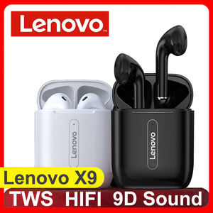 Lenovo X9 True Wireless Earphones Bluetooth 5.0 Touch Control 9D Dynamic HIFI Stereo TWS Earbuds For Xiaomi Bluetooth headset
