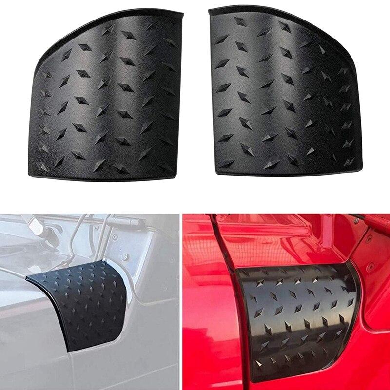 1 Paar Auto Motor Wrap Hoek Kap Body Armor Buitenste Kuipdelen Cover Hoek Voor Jeep Wrangler Tj 1997 2006-in Automotieve Interieur Stickers van Auto´s & Motoren op title=