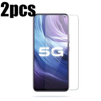 Перейти на Алиэкспресс и купить 2 шт закаленное стекло для Vivo Z6 Защита экрана для Vivo Z6 VivoZ6 5G V1963A защитная пленка