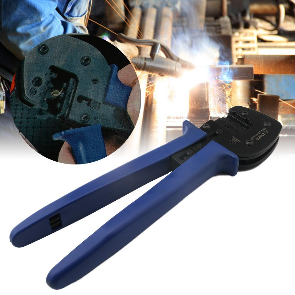 MC4 Solar PV Cable Crimper Tool For 2.5-6mm² Connector Cable Solar Panel Solar Cable Ratcheting Crimper Crimp Tooling