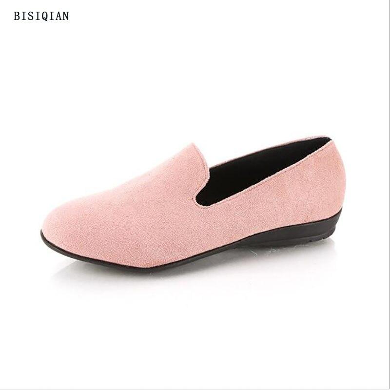 Vrouwen Flats 2019 Vrouwen Schoenen Candy Kleur Vrouw Loafers Lente Herfst Platte Schoenen Vrouwen Zapatos Mujer Zomer Schoenen Maat 35 41
