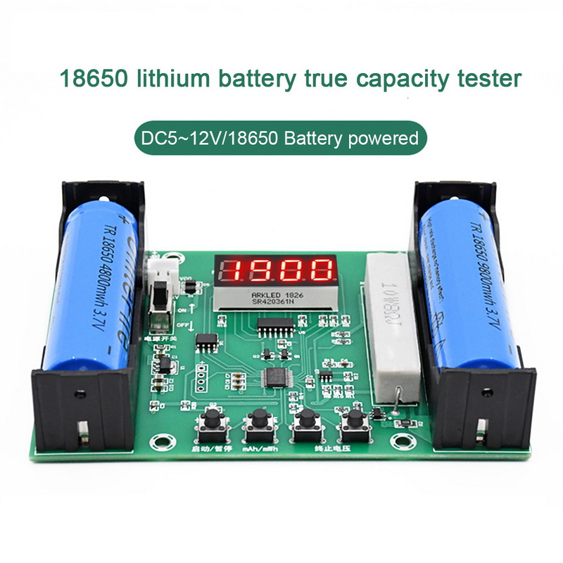 XH-M240 18650 тестер емкости литиевой батареи MaH MwH цифровой разрядный электронный монитор нагрузки