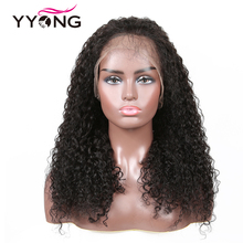Yyong Hair Full Lace Human Hair Wigs With Baby Hair Malaysian Kinky Curly Full Lace Wig Full Lace Wig Remy virgin kinky curly lace wig 7a mongolian lace front human hair wig glueless afro kinky curly full lace human wigs with baby hair