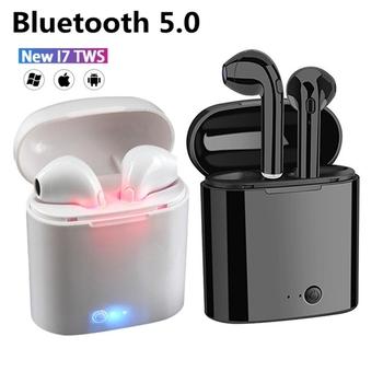 Gorąca sprzedaż I7s TWS słuchawki Bluetooth dla wszystkich inteligentnych telefonów sportowy zestaw słuchawkowy słuchawki Stereo bezprzewodowe słuchawki Bluetooth w uchu tanie i dobre opinie Maerknon Zaczepiane na uchu NONE Wyważone CN (pochodzenie) wireless 123dB 30mW Do kafejki internetowej Do gier wideo Zwykłe słuchawki