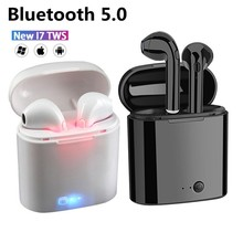 Gran oferta I7s TWS auricular Bluetooth para todos los teléfonos inteligentes deporte auriculares estéreo auricular Bluetooth inalámbrico auriculares en la oreja