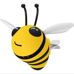 Clip de sortie pour désodorisant de voiture, abeille créative, décoration intérieure, diffuseur de parfum pour voiture, accessoire déodorant