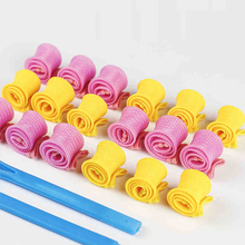 Magic Curl Lady Long Hair DIY  Spiral Ringlets Rollers Tool Divider Curlers Water Ripple