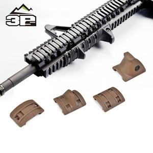 Tactical 4 PCS/SET EMagpul Hand Stop Kit Handguard AK AR15 M4 Panels Picatinny Rail Cover Hunting Gun Accessories MP02023(China)