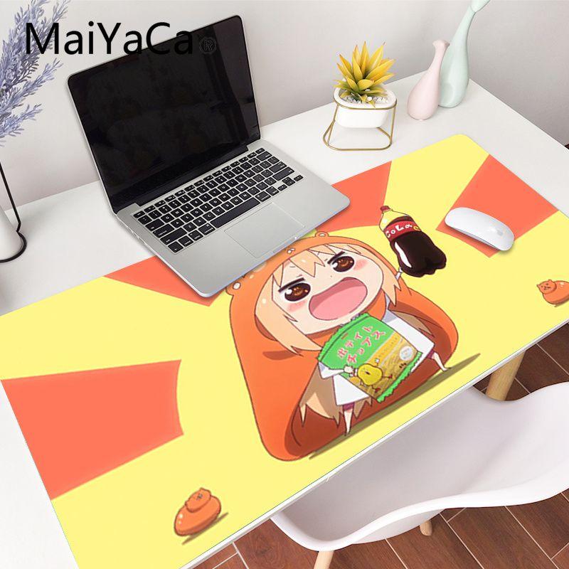 MaiYaCa Top Quality cute Umaru chan Anime gamer play mats Mousepad Gaming Mouse Pad Large Deak Mat 700x300mm for overwatch/cs go