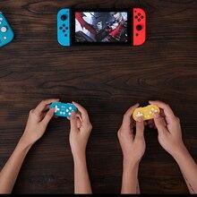 8BitDo sıfır 2 Bluetooth kablosuz denetleyici şeker renk Mini oyun Joystick Nintendo anahtarı için lite oyun makinesi PS3 PC buhar