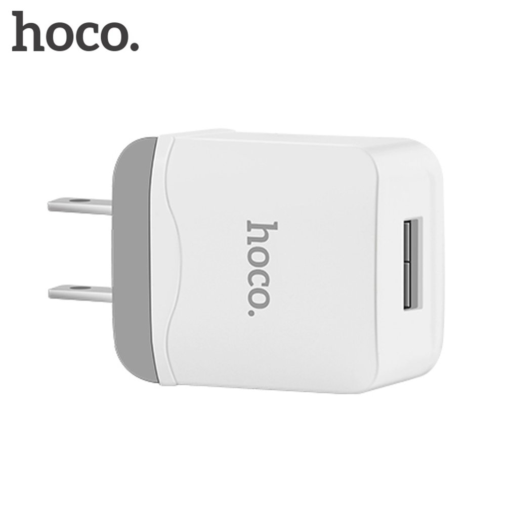 HOCO 5V 2.4A Universal USB Charger Intelligent Wall Charger US Plug Portable Travel Charging Adapter C22 For Smart Phone