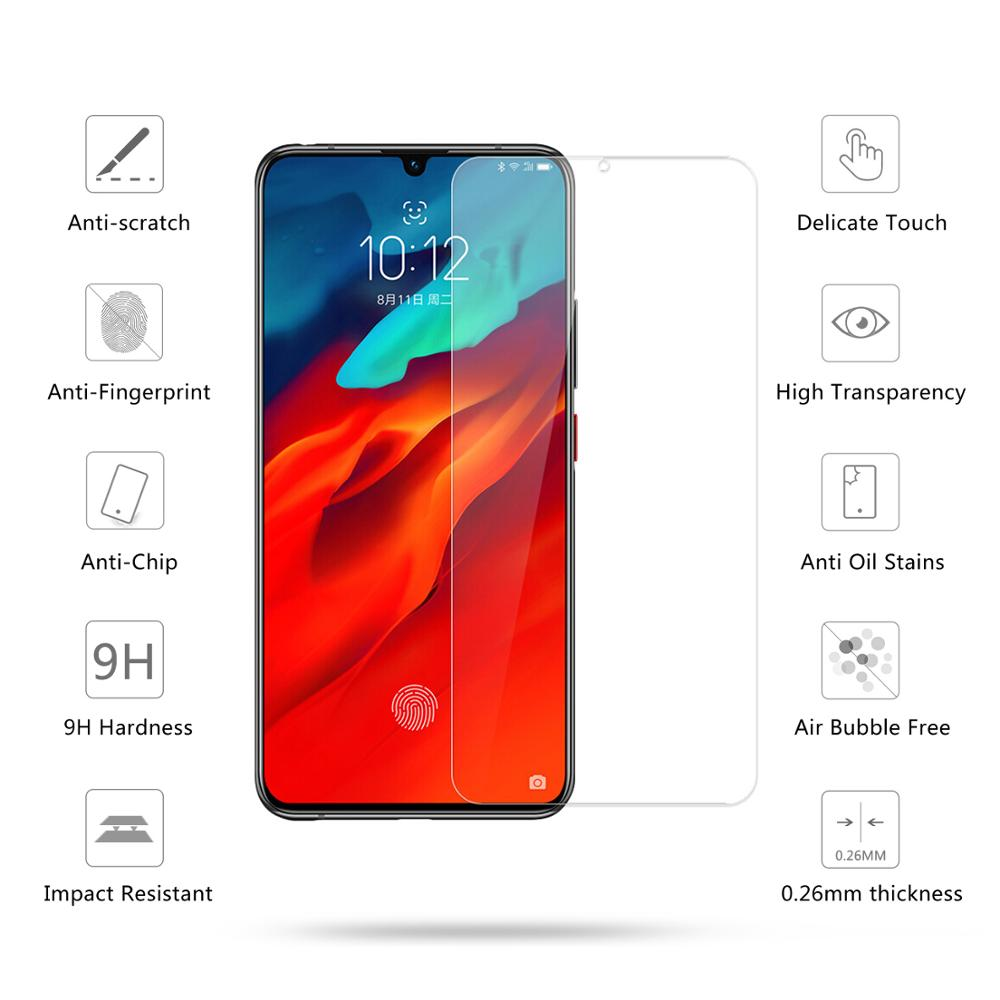 Image 3 - 2 Pcs Tempered Glass For Lenovo Z6 Pro / Z6 / Z6 Lite Screen Protector 2.5D 9H Tempered Glass For Lenovo Z6 Pro Protective Film-in Phone Screen Protectors from Cellphones & Telecommunications
